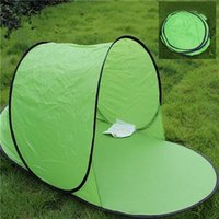awning sales - Hot sale Outdoor camping hiking beach summer tent UV protection fully sun shade quick open pop up beach awning fishing tent