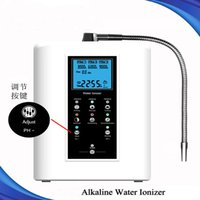 Wholesale high quality inch LCD display Other Water Treatment Appliances alkaline water ionizer for home use