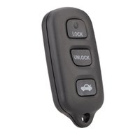 toyota car remote key - New Replacement Flip Fob Remote Car Key Shell Cover for Toyota Runner Sequoia Buttons Panic Car Key Case Uncut Blade