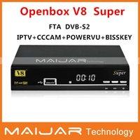 Wholesale new model Original openbox v8 super full HD FTA satellite receiver openbox a5s upgrade version