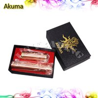 Wholesale Akuma Mod Mechanical Mods E electronic cigarette magnetic switch Copper Tube Battery Body for battery Retail Package