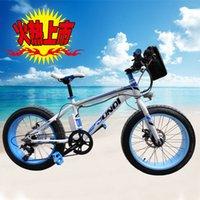 Wholesale 20 Inch Wide Tire Wheel Electric Snow Bike For Kids V AH E Fat Bike