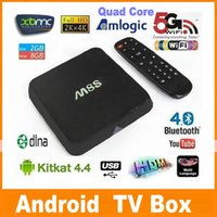 Wholesale M8S Android TV Box G G Dual band G G wifi Android Amlogic S812 Chip K XBMC Full HD Smart tv Media Player m8 TV M8S