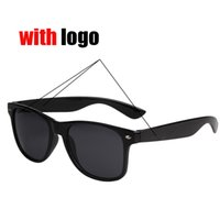 Cheap protection High Quality Plank black Sun glasses glass Lens black Sun glasses beach sunglasses UV protection sunglasses L2104