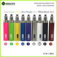 Wholesale eGo gs ego II ONE WEEK mah battery ego thread electronic cigarette CE4 protank MT3 Atomizer VS vision battery MOQ