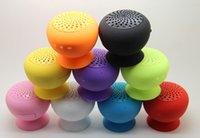 Cheap 2016 waterproof mushroom bluetooth speaker Wireless Colorful Mushroom Suction-cup Speakers for iPhone6s S6 LG HTC phone Free DHL