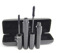 Wholesale 144set New Mascara D FIBER LASHES version Waterproof Double With Barcode and instruction fast shipping