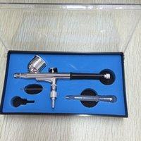 air brush nozzle - SAT5107 portable airbrush kit professional airbrush nozzle air brush airbrush nail art kit