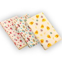 Wholesale Baby baby changing mat waterproof breathable waterproof fabric soft mattress supplies DIY handmade cotton home textiles