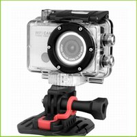 Wholesale High quality Waterproof Car Recorder Helmet Sports DV P Full HD H MP Car Diving Bicycle Action Sport Camera with Remote Holder