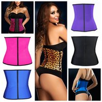 Cheap IMVATION 2015 New Fashion High Quality Hot Sale Popular Lady Sexy Waist Trainer Cincher Body Shaper Shapewear Underbust Corset