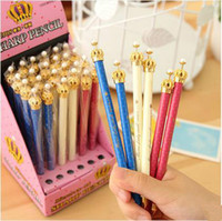 Wholesale New Fashion Cute Crown Style Ballpoint Pens Office School Pen for Kids Children Students and Office Ball pen ARC123