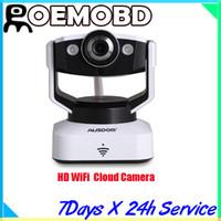 Wholesale AUSDOM D2 HD WiFi Cloud Camera Indoor Pan Tilt Wireless Could Camera
