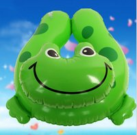 aerating water - 40cm PVC Aerated Water Balloons Water Game Frog Lifebuoy Bubble OUTDOOR Sport Beach