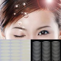 Wholesale Pairs Breathable Invisible Wide Eyelid Sticker Technical Eye Tapes Fashion Make Up Accessory MU