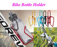 accessories for bike riding - Design Bicycle Water Bottle Holder Mountain Bike Bottle Cage Accessories for Sports Cycling Riding Racing Free DHL Factory Direct