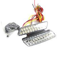 Cheap 2pcs Super Bright White 2x20 LED Front Fog DRL Daytime Running Driving Lights Fog Lamps Car Styling 12V DC Head Lamp LA-527