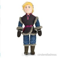 Wholesale 2015 Retail CM New Frozen Kristoff Plush Dolls Stuffed plush Soft Toys Baby Toy BO6957