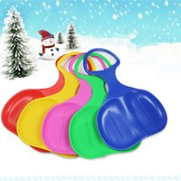 Wholesale 5 Colors Adult Children Snow Board Grass Skiing Snowboard Easy Ski Sled Skiing Sleigh for Winter Outdoor Sport New Arrival