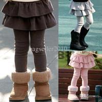Wholesale Retail Girl Legging Girls Skirt pants Skirt Kids Leggings Girl Baby Pants Kids Leggins Leggings For Girls J05 salebags