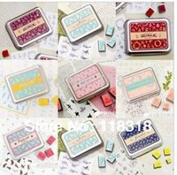 Wholesale Min Order is Styles Can Choose DIY Scrapbooking Vintage Lace Stamp Wood Stamps Iron Box Sealing Stamp Set
