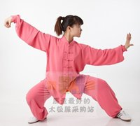 Wholesale Tai chi clothing heavy clothes and high elastic Ma watermelon Taichi performance clothing clothing for men and women