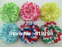 baby ballerina clothes - Inch Chevron Ballerina Flowers Ruffle Flowers For Kids Baby Girls Clothing Shoes Hair Accessories