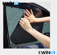 car curtains - good quaility38 cm New Car Curtain Windshield Stickers Sun shade UV Protection Car Side Window Film pairs