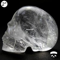 quartz crystal skull - Super Deals Cheapest quot white clear quartz rock crystal skull carving natural gems crystal skull DOI