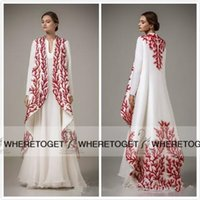 apple malaysia - 2016 New Arrival Arab Muslim Dresses Ethnic Arab Robes Evening Dresses With Long Sleeve Applique Malaysia Middle East Only coat