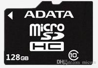 Cheap 100% Real ADATA 32GB 64GB 128GB 256GB Class10 Micro SD TF Memory SDHC Card SD Adapter Retail Package car