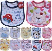 baby wipes - prints Layer cotton children waterproof bib saliva towel babies Wipes Burp Cloth Scarf