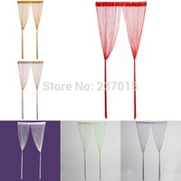 Wholesale Home Practical String Door Curtain Fly Screen Divider Room Window Home Decor Blind Tassel Drape