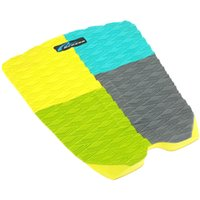 Wholesale 2Pcs Surfboard Deck Grip Surf Paddle Board Longboard Deck Pad Top quality EVA Surfboard Traction Pads Traction Tail Deck Pad