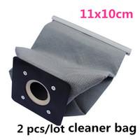 Wholesale 2 New Practical Vacuum Cleaner Bags Non Woven Bags Hepa Filter Dust Bags Cleaner Bags Accessories For Cleaner x10cm
