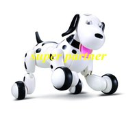 Wholesale Chrismas Gift rc toys G wireless remote control robot dog available program intelligent Remote Control Toy DHL