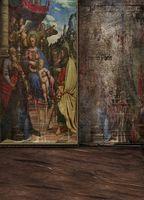 antique oil paintings - 600CM CM background Oil Painting Art Antiques photography backdropsvinyl photography backdrop LK