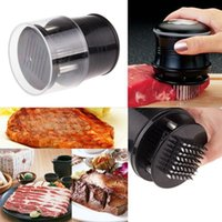 Wholesale V1NF New Hot Practical Meat Tenderizer Needle with Stainless Steel Blades Kitchen Tool