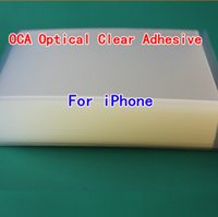 double sided adhesive tape - DHL Quality A um OCA Optical Clear Adhesive For iPhone G inch S C LCD Digitizer Touch Screen Double Sided Tape iphone6 i6