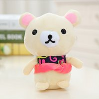 best old clothes - 20CM Lovely Bear With Beautiful Clothe Stuffed Plush Kawaii Doll Best Gifts Special Offer SY107B