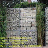 Wholesale Factory Price m Gabion Basket With Walls In The Middle Electro Or Hot dipped Galvanized Finish