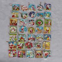Precio de Tarjetas de navidad baratos-modelos de tarjetas multi colgante del árbol de Navidad barato Tarjetas de Navidad Tarjetas de Navidad artículos lindo que desea tarjetas de Navidad Parte Material 110078