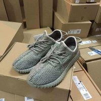 Wholesale Yeezy Boost Fashion Women Men Yeezy Boost Black Moon Rock Oxford Tan Running Sports Yeezy Shoes YEY Boosts Dropshipping Accepted