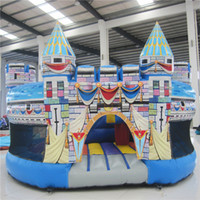 beautiful backyards - AOQI amusement park equipment outdoorl beautiful inflatable Castle bouncer for different places made in professional manufacturer AOQI