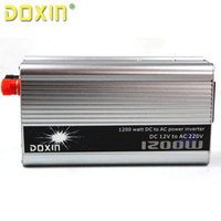 Cheap 1200W DC12V to AC 220V Automotive Power Inverter Charger Converter for Car Auto Car Power Hot Sale ST-N007 Electric Back Up