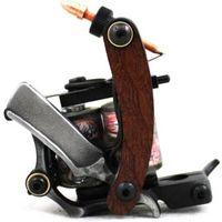 Wholesale New Design Handmade Custom Tattoo Machines Wrap Coils Tattoo Gun machine for permanent tattoo kit
