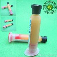 Wholesale 3 BGA Mechanic Solder Paste PCB SMD Soldering Paste RMA RMA Flux Cream Welding Oil BGA Grease Syringe Of cc ml A2