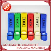 OCB Cigarette Maker electric cigarette rolling machine - Single Tube Electric Cigarette Tobacco Filter Automatic Cigarette Rolling Machine Roller Injector Cigarette Maker OCB