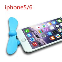 mini fan - Mini USB Fan Cooling for Iphone5 Leaves Flexible USB Gadget Fans Electronic Goods Gift for Iphone Cute Dragonfly Fans