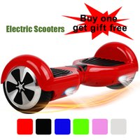 Wholesale led rgb scooter hoverboard smart balance scooters io haw airwheel skate scooter skywalkers self balancing segboard electric scooters USA
